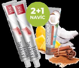 EXTREME WHITE 2+1 NAVÍC