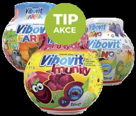 VIBOVIT pro podporu zdravé imunity dětí